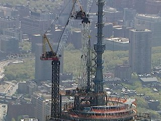 VIDEO: One World Trade Center Spire Installed