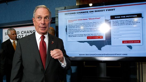 ap Bloomberg Gun Violence nt 120411 wblog Bloomberg Blasts NRA Over Stand Your Ground Laws