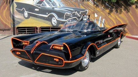 ap batmobile auction jt 130120 wblog Instant Index: Batmobile Sold, Lady Gaga Inaugural Ball, Ace of Cakes Bakes Inaugural Cake