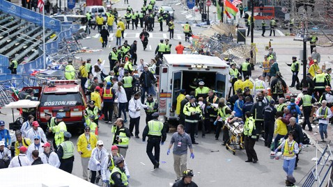 ap boston marathon scene kb 130415 wblog LIVE UPDATES: Boston Marathon Explosion