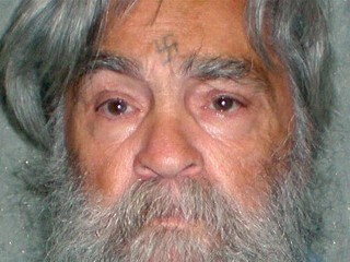 Serial killer Charles Manson, 77, is shown in this booking photo, released April 4, 2012.