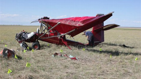 ap colorado plane crash ll 120530 wblog Man Killed in Homemade Plane Crash