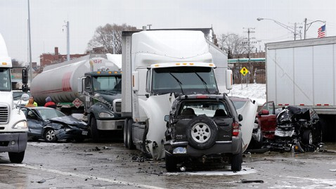 ap detroit freeway crash ll 130131 wblog Deadly Weather Hits Upper Midwest, East