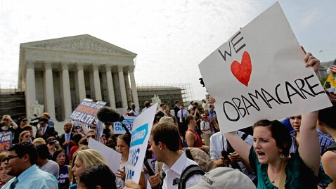 ap health care jef 120628 wblog Divide And Ruling: Public Splits In SCOTUS Aftermath (The Note)
