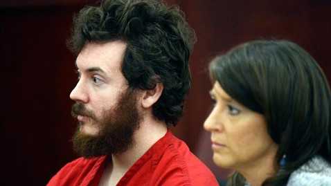ap james holmes jef 130312 wblog Judge Enters Not Guilty Plea for Aurora Shooter James Holmes