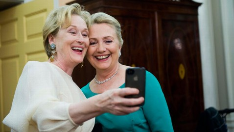 ap kennedy honors meryl streep hillary clinton jt 121202 wblog Instant Index: Hillary and Meryl, Hidden Treasures at the Thrift Store