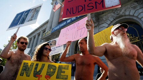 ap nudity ban nt 121121 wblog San Francisco Nudity Ban Divides Lawmakers