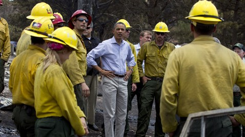 ap obama colorado wildfire lt 120629 wblog Obamas Weekly Address: Coming Together to Put Out the Colorado Wildfires
