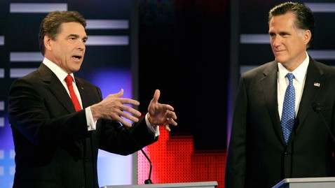 ap perry romney tk 111210 wblog Rick Perry Calls $10,000 Pocket Change for Mitt Romney