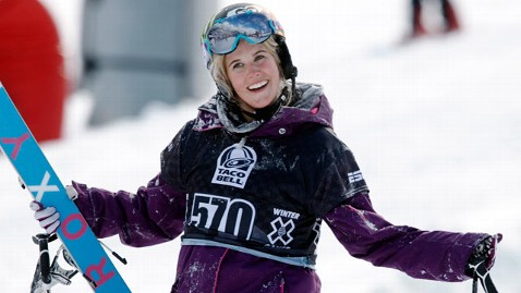 Canadian Star Skier SARAH BURKE in Critical Condition After Halfpipe Accident