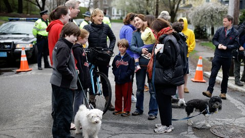ap watertown neighborhood shootout morning after thg 130420 wblog LIVE UPDATES: Boston Bombing Suspect in Custody, Day 2