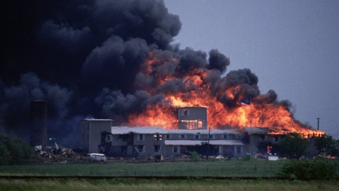 cb compound burning jt 130225 wblog Texas Explosion Casts Pall Over Waco
