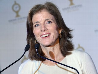 PHOTO: Caroline Kennedy attends Grand Central Terminal 100th Anniversary Celebration at Grand Central Terminal on Feb. 1, 2013 in New York City.