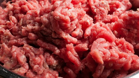 pink slime in grocery store ground beef