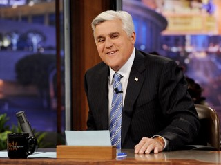 PHOTO: Talk show host Jay Leno appears on The Tonight Show with Jay Leno at the NBC Studios on May 27, 2011 in Burbank, Calif.