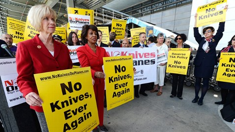 gty knives protest nt 130405 wblog Angry Flight Attendants Protest TSAs Knife Rule