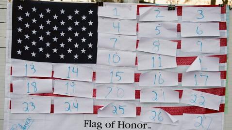 gty newton shooting flag awaiting victims names jt 121215 wblog LIVE UPDATES: Newtown, Conn., School Shooting