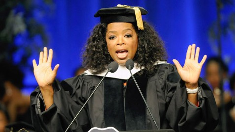 gty oprah commencement speech spelman college thg 120524 wblog The 18 Best Commencement Speeches of 2012