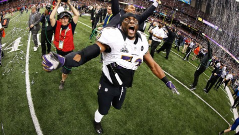 gty ray lewis kb 130203 wblog Super Bowl XLVII Live: Score, Commercials and More