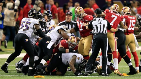 gty rough game kb 130203 wblog Super Bowl XLVII Live: Score, Commercials and More