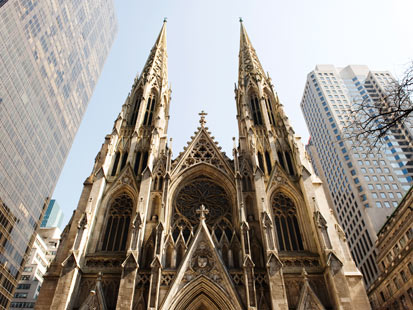 gty st patricks cathedral dm 120130 main Woman, 67, Stole $1 Million From Archdiocese