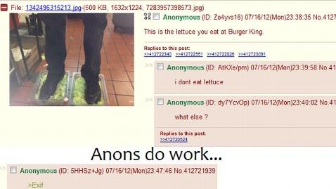 Feet Coli Found In Burger King Lettuce Acurazine Acura Enthusiast Community