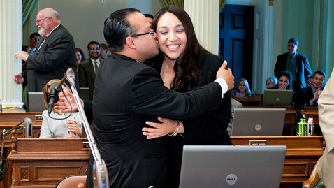 ht alejo proposal 2 dm 120508 wblog California Lawmaker Proposes Marriage on Assembly Floor