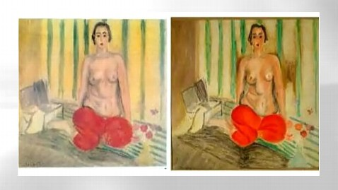 ht art mr 120718 wblog Stolen Matisse Painting Reportedly Recovered After Almost a Decade