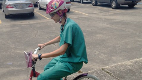 ht bauman kb 120828 wblog Louisiana Doctor Rides Childs Bike to Surgery
