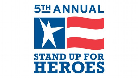 ht bob woodruff foundation stand up for heroes ll 111110 wblog Night of Laughs to Benefit Injured Vets, Families