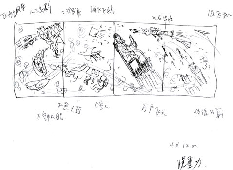 ht cai guo qiang 07 jp 120322 wblog Cai Guo Qiang Plays With Fire