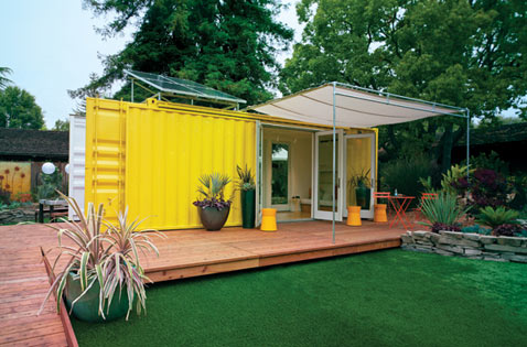 Home Sweet Shipping Container: Detroit Housing Project - ABC News
