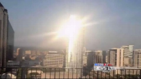 Dallas Tower Glare Blinds Arts District Abc News