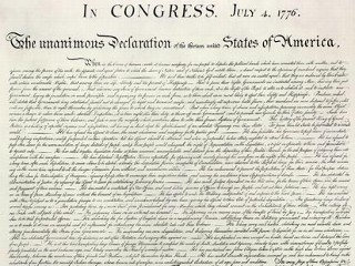 picture about Printable Declaration of Independence Text known as Comprehensive Phrases of the Declaration of Liberty - ABC Information