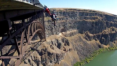 ht dorothy custer BASE jump kb 130605 wblog 102 Year Old Woman Tandem BASE Jumps for Birthday