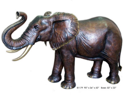 ht elephant babar nt 120302 main 400 Pound Bronze Elephant Stolen From Texas Family Home