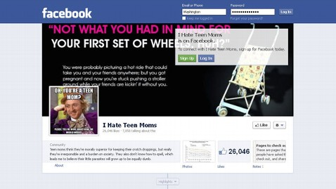 ht facebook i hate teen moms jt 121027 wblog I Hate Teen Moms Facebook Page Under Fire