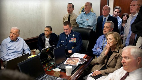 ht famous situation room bin laden jef 111220 wblog Obama Campaign Tweaks Bin Laden Argument; Less I More We