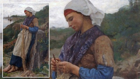 ht fishermans daughter painting wy 111013 wblog Stolen Masterpiece Discovered: Fishermans Daughter Returned to France After 90+ Years