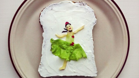 ht food art degas ll 130507 wblog Woman Recreates Famous Artwork as Edible Masterpieces