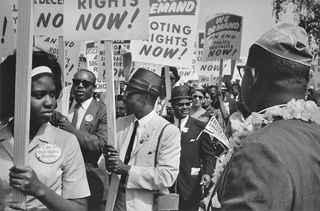 A Look Back At The March On Washington For Jobs And