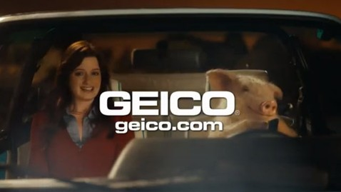 ht geico pig tk 130225 wblog GEICO Pig on a Date Angers One Million Moms