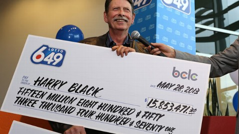 ht harry black kb 130530 wblog Canadian Lotto Winner Plans to Get Out of Dodge
