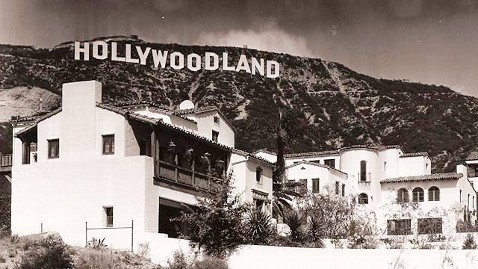 ht hollywoodland home ll 121002 wblog 35 Year Old Hollywood Sign to Get a Fresh Coat of Paint
