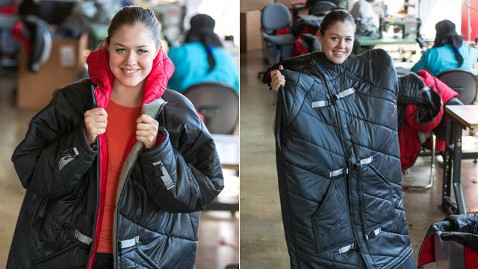 ht homeless coat 2 mi 130507 wblog Sleeping Bag Coats Warm, Employ Detroit Homeless