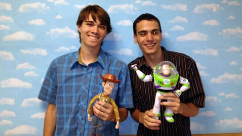 ht jesse perrotta jonason pauley toy story ll 130114 wblog Toy Story Gets Live Action Treatment