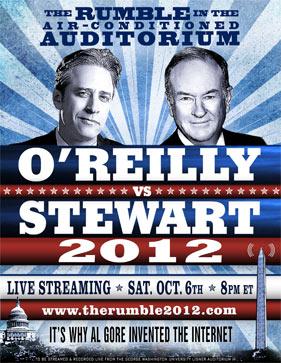 ht jon stewart bill oreilly rumble nt 120918 vblog Jon Stewart, Bill OReilly to Debate