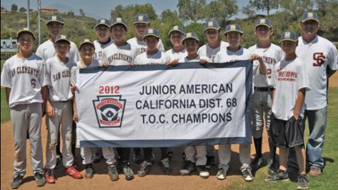 ht little league champions san clemente thg 120612 wblog Teens Coach Little League Team To Championship