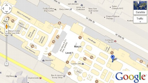 ht macys dm 121122 wblog Black Friday Shoppers Treated to Google Maps New Indoor Floor Plans