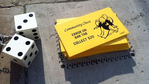 ht monopoly streets dice cards jef 120612 wblog PHOTO BLOG: Monopoly Lands on Chicagos Streets